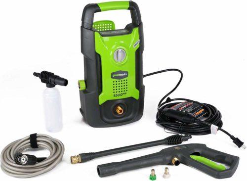 Greenworks GPW1501 electric pressure washer