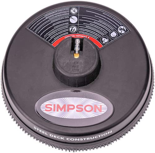 Simpson 80165 pressure washer surface cleaner