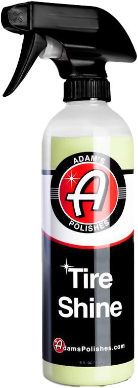 Adams tire shine