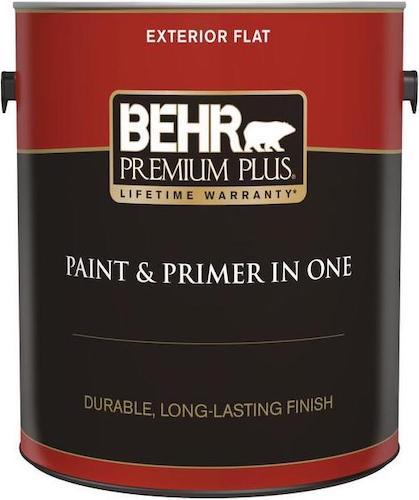 Behr Premium Plus house exterior paint